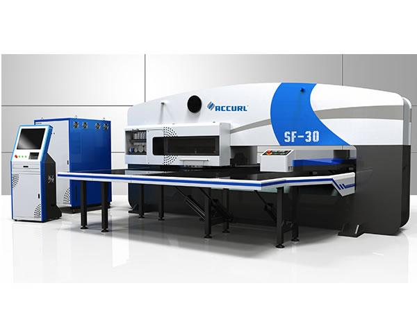 آلة التخريم البرجية CNC بالآلية المؤازرة Smart-SF-30