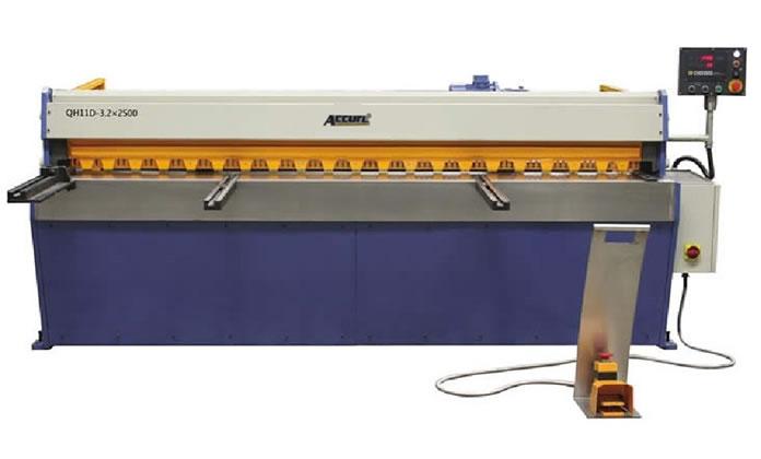 آلة القص المفصلية الميكانيكية بدقة سلسلة QH11D